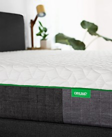 "Carihola 12"" Charcoal Memory Foam, Quick Ship, Mattress in a Box - Queen"