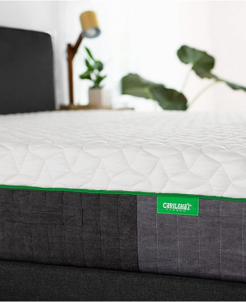 "Cariloha Carihola 12"" Charcoal Memory Foam, Quick Ship, Mattress in a Box - Queen"
