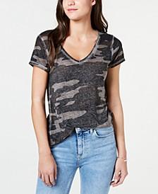 Camo-Print T-Shirt
