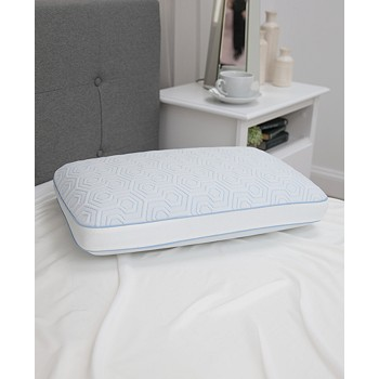 SensorGel Arctic Gusset Gel-Infused Memory Foam Pillow