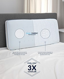 Arctic Gusset Gel-Infused Memory Foam Pillow with Cool Coat Technology - King