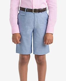 로렌 랄프로렌 남아용 반바지 Lauren Ralph Lauren Little Boys Cotton Shorts,Light Blue