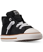 4a14bf9646ec Converse Toddler Boys  Chuck Taylor All Star Street Casual Sneakers from  Finish Line