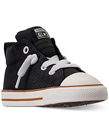 d408e831e7b997 Converse Toddler Boys  Chuck Taylor All Star Street Casual Sneakers from  Finish Line