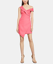 BCBGMAXAZRIA One-Shoulder Sheath Dress