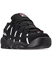 ff1d3bf2ec90 Fila Men s Spaghetti Low Basketball Sneakers from Finish Line