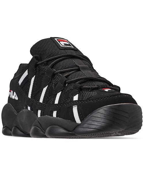 5ab908d8b331 Fila Men s Spaghetti Low Basketball Sneakers from Finish Line ...
