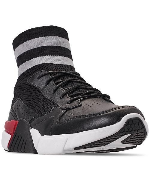 Mark Nason Men's Los Angeles Block - Varsity  High Top Casual Sneakers from Finish Line