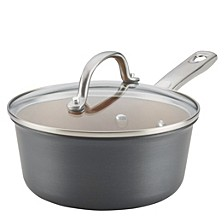 Hard Anodized 2 Qt Saucepan