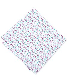 Bar III Men's Vine Floral Pocket Square, Created for Macy's