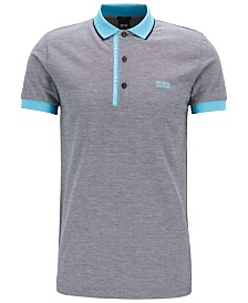 BOSS Men's Slim-Fit Pima Cotton Polo