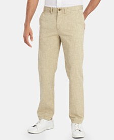 Tommy Hilfiger Men's Graphic Chino Pants, Created for Macy's