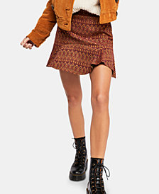 Free People When In Rome Flippy Mini Skirt