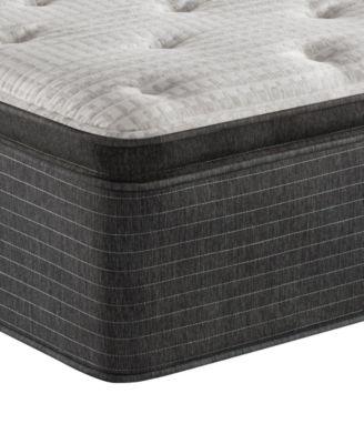 """BRS900-C-TSS 16.5"""" Medium Firm Pillow Top Mattress - Twin, Created for Macy's"""