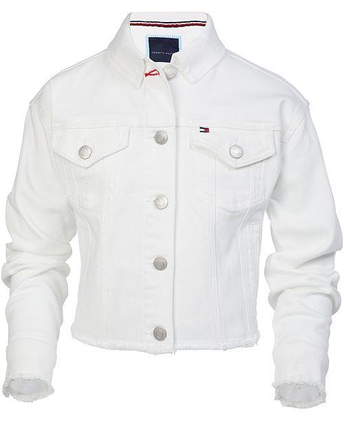 Tommy Hilfiger Toddler Girls Love Cropped Denim Jacket
