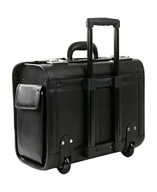"Royce New York Rolling 15"" Laptop Briefcase"