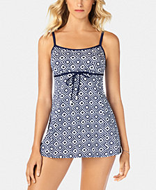 Swim Solutions Empire Swimdress, Created for Macy's