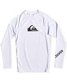 Quiksilver Big Boys All Times Graphic Rash Guard