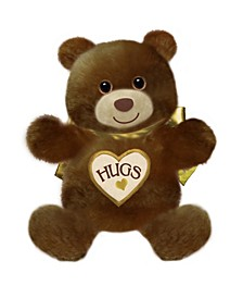 First and Main - 15 Inch Brown Hugsie Bear