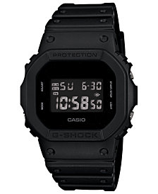 G-Shock Men's Digital Blackout Black Resin Strap Watch 42.8mm Includes Gorillaz song download