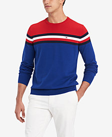 Tommy Hilfiger Men's Chris Colorblocked Sweater, Created for Macy's