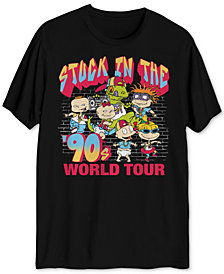 Rugrats World Tour Men's Graphic T-Shirt