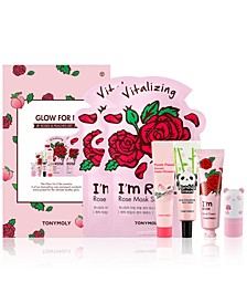 6-Pc. Glow For It Roses & Peaches Set