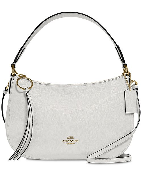 be82abd268d3 Sutton Crossbody in Polished Pebble Leather