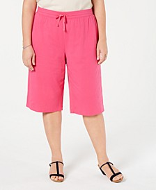 Plus Size Skimmer Pants, Created for Macy's