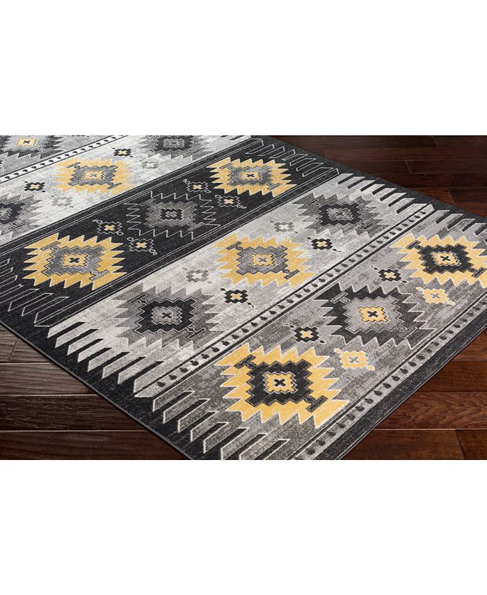 """Abbie & Allie Rugs - Rafetus ETS-2330 Butter 18"""" Square Swatch"""