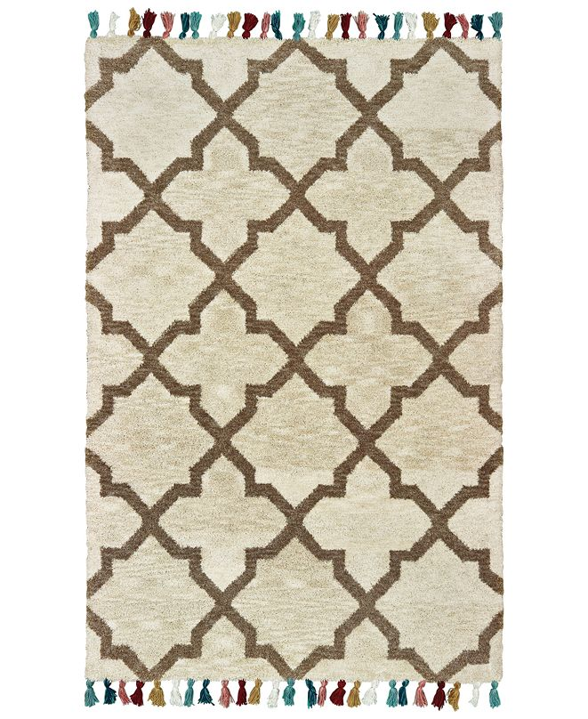 Oriental Weavers Madison 61405 Ivory/Tan 10' x 13' Area Rug