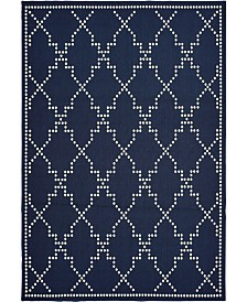 "Oriental Weavers Marina 7765 6'7"" x 9'6"" Indoor/Outdoor Area Rug"
