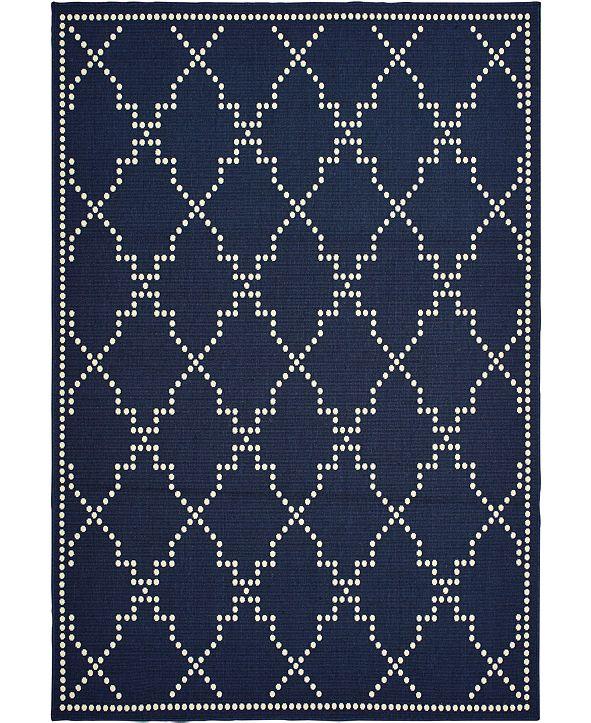 """Oriental Weavers Marina 7765 1'9"""" x 3'9"""" Indoor/Outdoor Area Rug"""