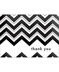 Chevron Thank You Note Boxed Cards