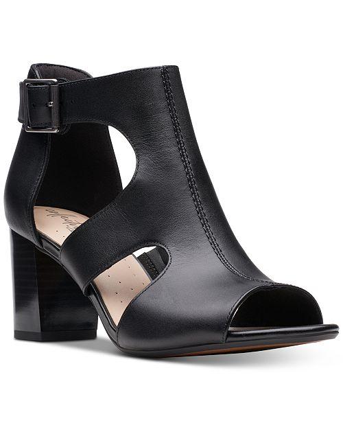 149e65465258 Clarks Collection Women s Deva Heidi Heeled Sandals   Reviews ...