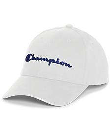 Champion Men's Cotton Twill Logo Hat