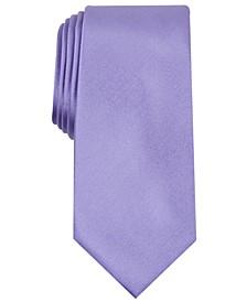 Men's Solid Texture Slim Tie, Created for Macy's