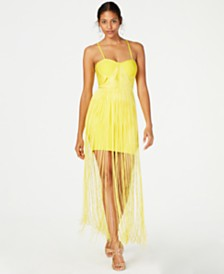 Marciano Fringe Bandage Dress, Created for Macy's