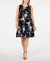 Plus Size Designer Dresses: Shop Plus Size Designer Dresses - Macy\'s