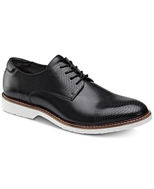 Men's Atwell Textured Oxfords, Created for Macy's