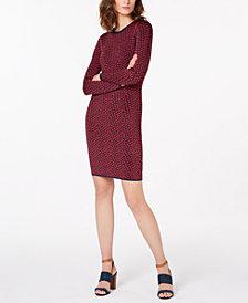 MICHAEL Michael Kors Jacquard Sweater Dress