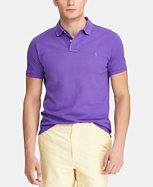 Polo Ralph Lauren Men's Classic-Fit Mesh Polo Shirt, Regular and Big & Tall