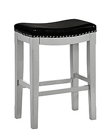 Savannah Saddle Bar Stool Vinyl Fabric