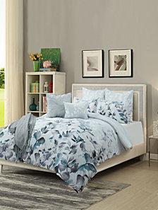 Aurora 8Piece Comforter Set Blue King