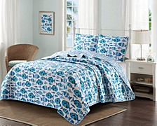 Welcome Cove 3 Piece Quilt Set King