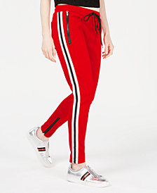 Reason Varsity-Stripe Track Pants
