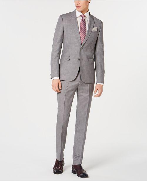 Hugo Boss Hugo Boss Men's Slim-Fit Wool Suit Separates