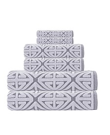 Enchante Home Glamour 6-Pc. Turkish Cotton Towel Set