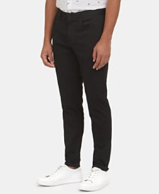 Kenneth Cole New York Men's Forever Black Pants