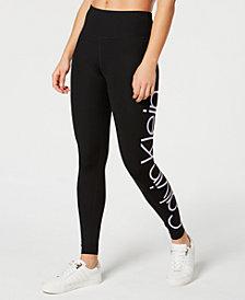 Calvin Klein Performance Jumbo-Logo Leggings